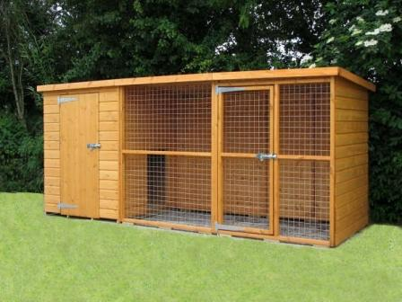 sussex dog kennel and run