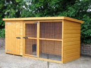 cat kennel and run