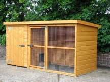 8ft x 4ft wilton dog kennel and run