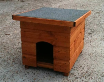 Wooden cat kennel